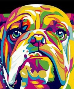 Dog Animals - DIY Paint By Numbers - Numeral Paint