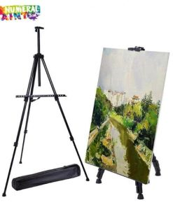 Black Aluminum Easel for Paint by Numbers