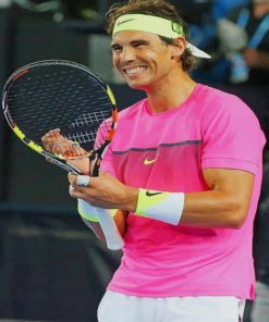 rafael nadal paint by number