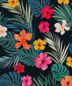 Aesthetic Flowers Artwork paint by number