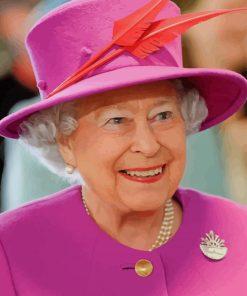Elizabeth II Queen Of England paint by numbers