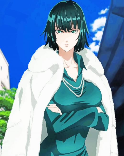Fubuki Anime Profile New Paint By Numbers Canvas Paint By Numbers
