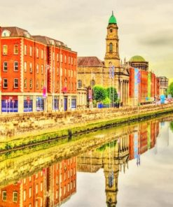 River Liffey Ireland paint by numbers