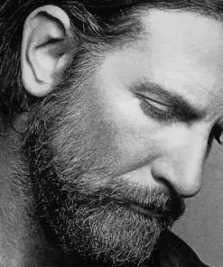 Bradley Cooper A Star Is Born paint by number