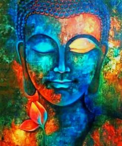 Buddha Pop Art paint by numbers