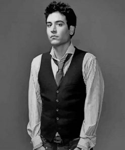 Josh Radnor Actor paint by numbers