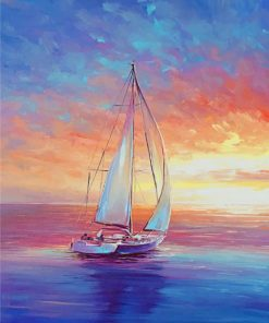 Sailing Painting paint by numbers
