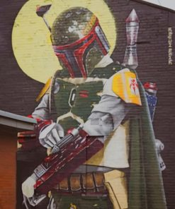 Star Wars Graffiti paint by numbers