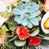 Succulent Colorful Flowers paint by numbers