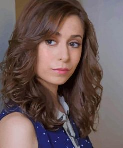 The Actress Cristin Milioti paint by numbers