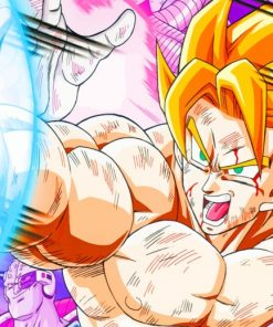 Goku Dragon Ball painting by numbers