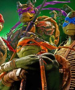 Teenage Mutant Ninja Turtles painting by numbers