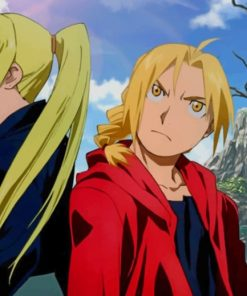 Full metal Alchemist Characters paint by numbers