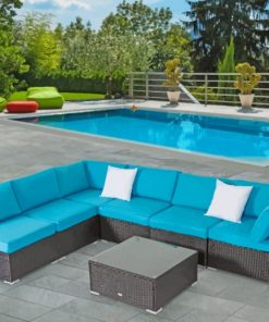 Outdoor Patio Furniture paint by numbers
