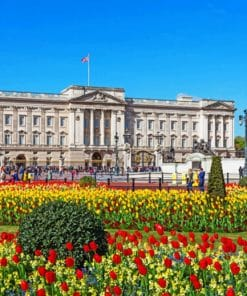 Buckingham palace painting by numbers