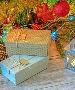 Christmas Gifts paint by numbers