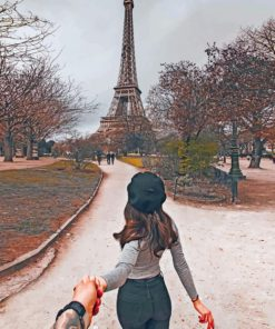 Follow Me To Paris paint by numbers