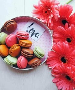 Macarons Lovers paint by numbers