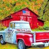 Old Pickup Truck paint by numbers