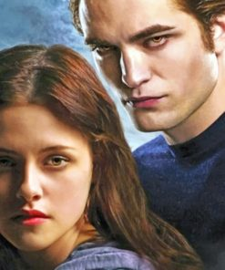 Twilight Movie paint by numbers