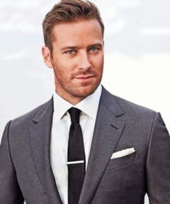 Armie Hammer paint By Numbers