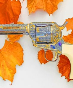 Revolver Colt Saa 175 Gun paint by numbers