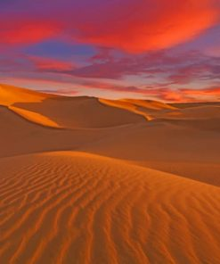 Sahara Morocco paint by numbers