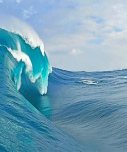 Big wave paint by numbers