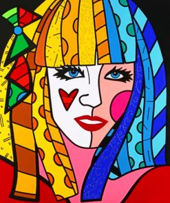 Romero Britto paint By Numbers