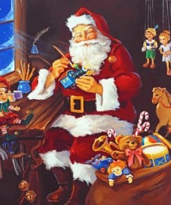Santa Claus Father paint by numbers
