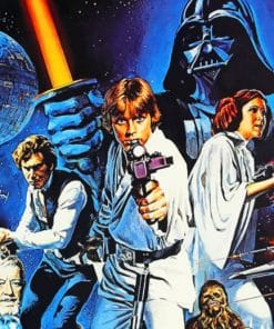 Star Wars paint By Numbers