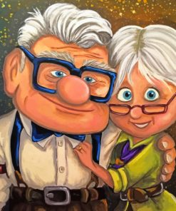 Cartoon Lovers paint By Numbers
