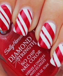 Christmas Nails polish paint By Numbers