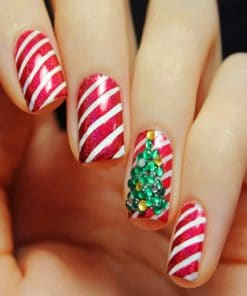 Christmas Nails paint By Numbers