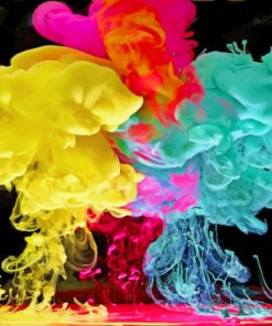 Color Drops In Water paint By Numbers