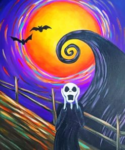 Halloween Art paint By Numbers