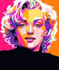 Mariyln Monroe paint by numbers