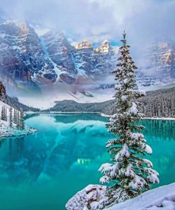 Moraine Lake paint By Numbers
