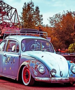 Old Beetle paint By Numbers