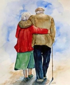 Old-Couple-Hugging-paint-by-number