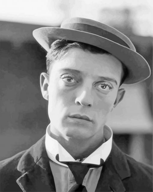buster-keaton-paint-by-numbers