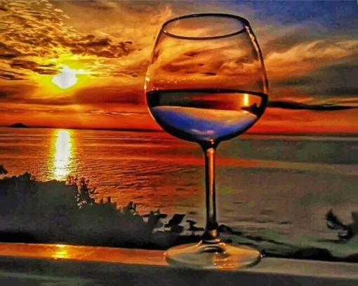 artistic-sunset-paint-by-numbers