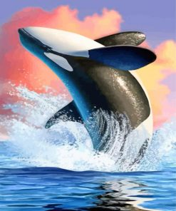 Orca Art paint by numbers