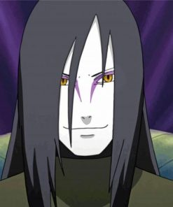 Orochimaru From Naruto paint by numbers