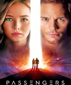 Passengers Poster paint by numbers