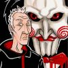 Jigsaw Illustration Movie paint by numbers