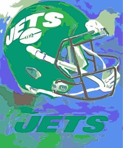 New York Jets Art paint by numbers