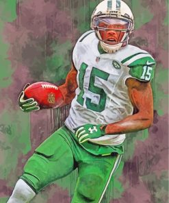 Brandon Marshall Jets paint by numbers