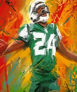New York Jets Player Art paint by numbers